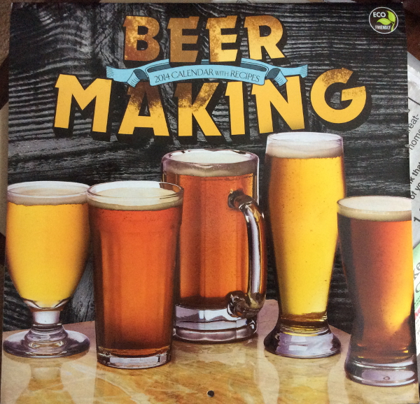 Beer Making Calendar