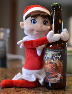 Sotto Voce an ale brewed with oranges & spices
