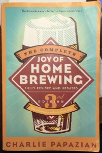 Picture of brewing book