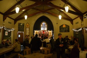Picture of inside of Brewery Vivant